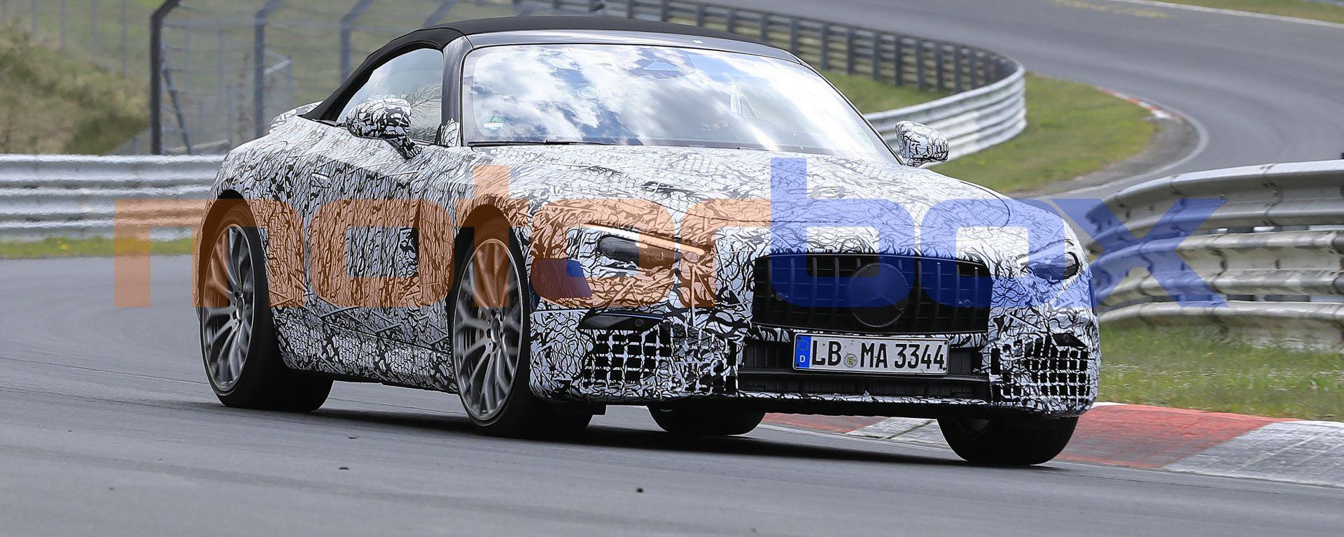 Nuova Mercedes SL 2021: i test dinamici al Nurburgring