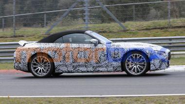 Nuova Mercedes SL 2021: stile ispirato alla 300 SL Gullwing