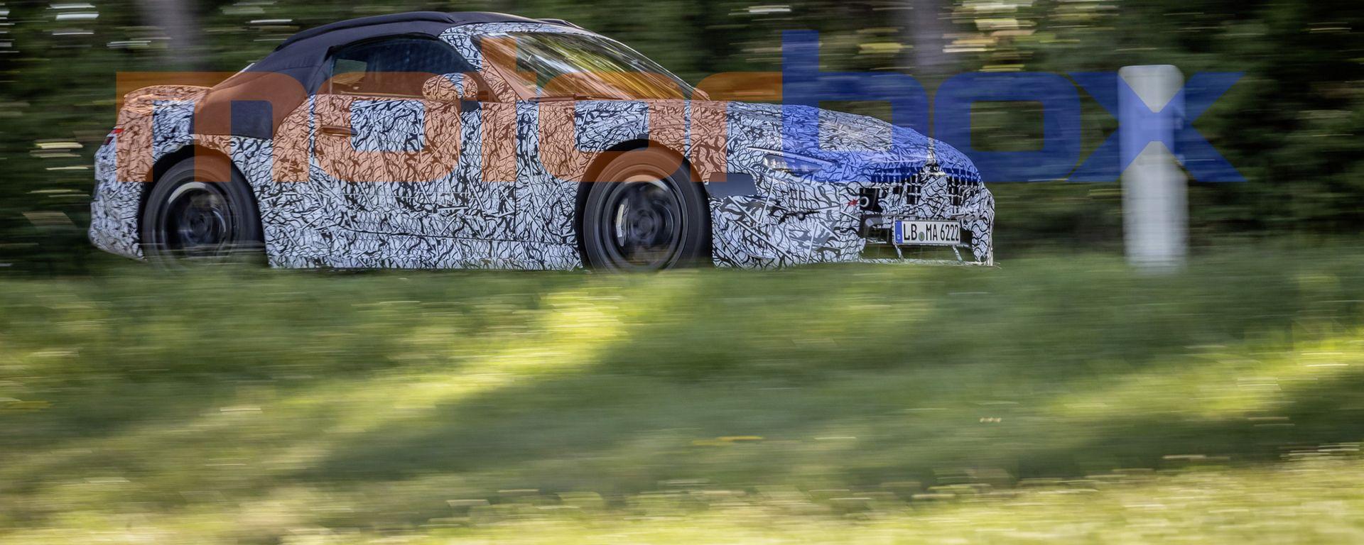Nuova Mercedes SL Roadster 2022: di nuovo sulla strada la stella di Stoccarda