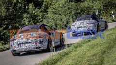 Nuova Mercedes SL Roadster 2022: due prototipi fanno vedere un lato B tutto da scoprire