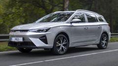 Nuova MG5 (2022), prima station wagon elettrica. Il video debutto
