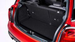 Nuova Mini 2021 3 porte: il bagagliaio