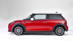 Nuova Mini 2021 3 porte: visuale laterale