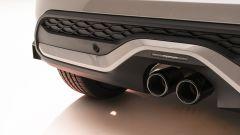 Nuova Mini 2021 S 3 porte: il doppio scarico posteriore