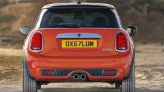 Nuova Mini Cooper S 2018: vista posteriore