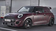 Nuova Mini John Cooper Works GP 2020: vista 3/4 anteriore