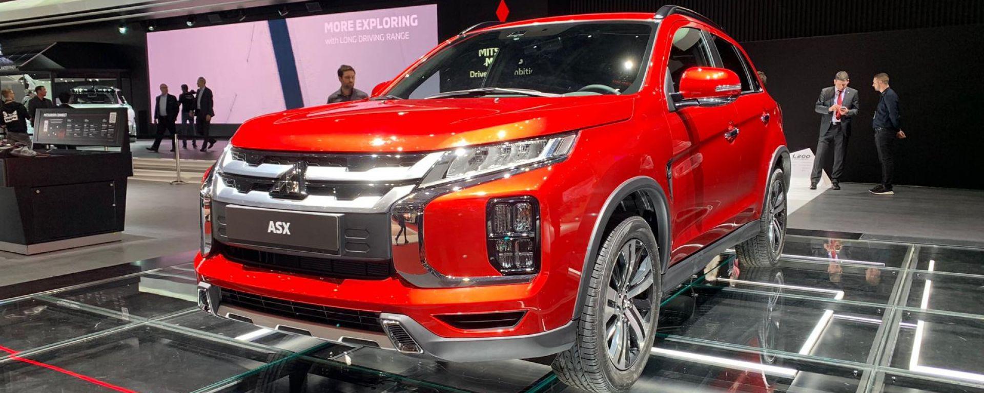 Nuova Mitsubishi ASX 2020: come cambia con il facelift