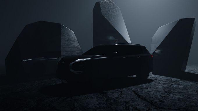 Nuova Mitsubishi Outlander 2021: il teaser