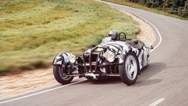 Nuova Morgan 3 Wheeler avrà un 3 cilindri aspirato a benzina di derivazione Ford