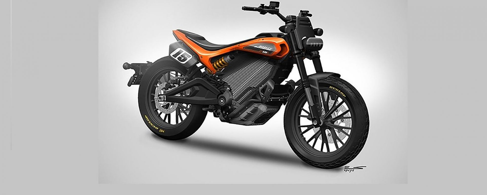 "Nuova naked EV Harley Davidson ""Mid Power"""