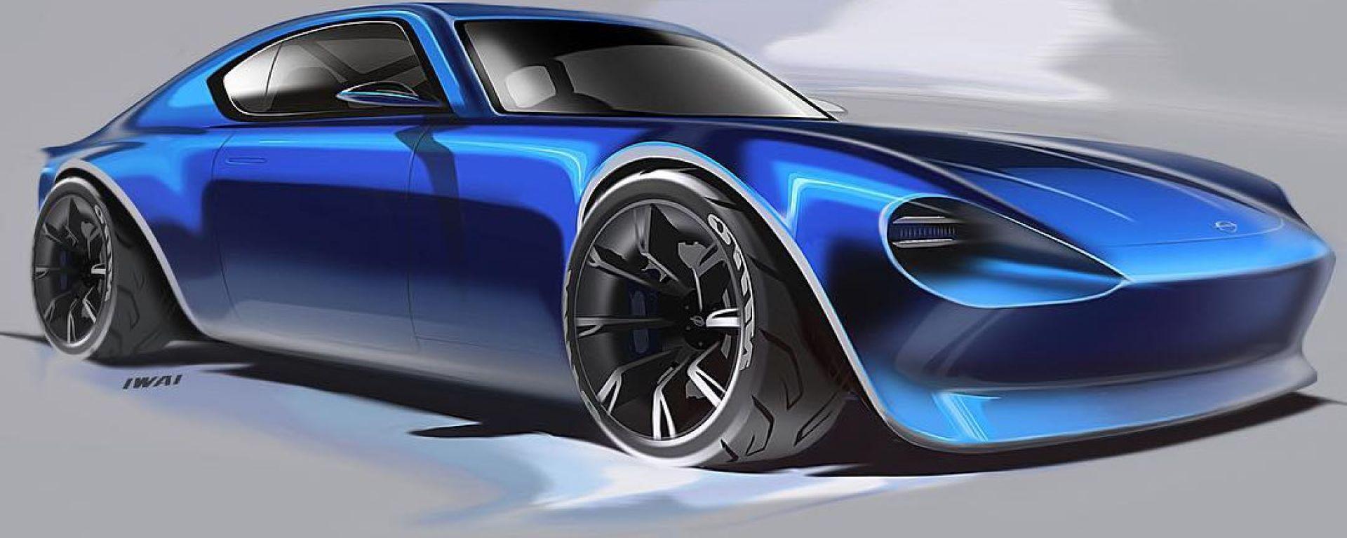 Nuova Nissan 370Z: la futura sportiva potrebbe avere un look retrò e montare un tremila bi-turbo da 400 CV