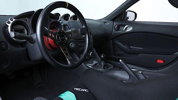 NUova Nissan 370Z: l'abitcolo della coupé giapponese usata per il film Fast&Furious