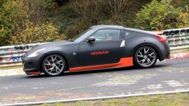 Nuova Nissan 370Z: vista laterale