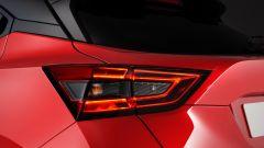 Nuova Nissan Juke 2020: dettaglio dei fanali posteriori