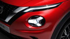 Nuova Nissan Juke 2020: dettaglio dei fari tondi anteriori