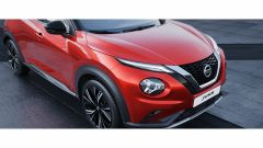 Nuova Nissan Juke 2020: dettaglio del frontale