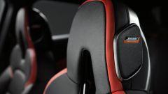 Nuova Nissan Juke 2020: gli altoparlanti del sistema audio Bose nei sedili