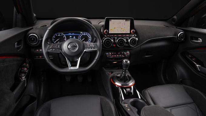 Nuova Nissan Juke 2020: gli interni