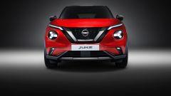 Nuova Nissan Juke 2020: il frontale in rosso