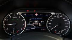 Nuova Nissan Juke 2020: la strumentazione con il display per il computer di bordo e i sistemi ADAS