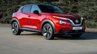 Nuova Nissan Juke 2020: stile moderno e rinnovato