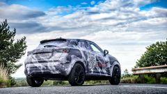 Nuova Nissan Juke 2020, vista 3/4 posteriore