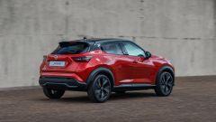 Nuova Nissan Juke 2020: vista 3/4 posteriore