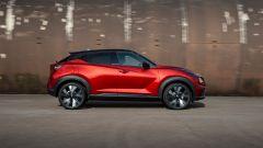 Nuova Nissan Juke 2020: vista laterale