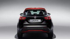 Nuova Nissan Juke 2020: vista posteriore in nero