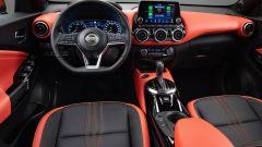 Nuova Nissan Juke, gli interni
