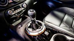 Nuova Nissan Juke: particolare del cambio