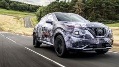 Nuova Nissan Juke, prototipo a collaudo