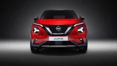 Nuova Nissan Juke: vista anteriore