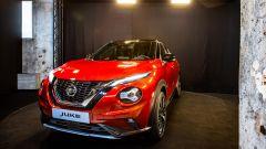 Nuova Nissan Juke: vista di 3/4 anteriore