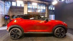 Nuova Nissan Juke: vista laterale