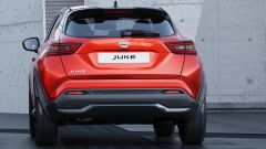 Nuova Nissan Juke: vista posteriore