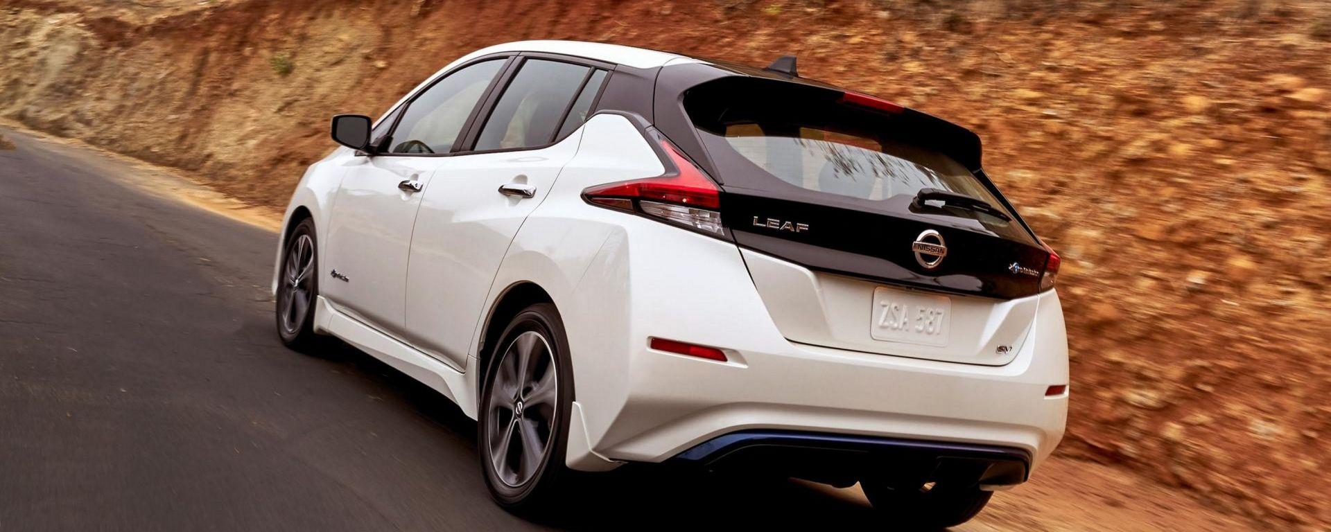 Nuova Nissan Leaf: eccola, con quasi 400 km di autonomia