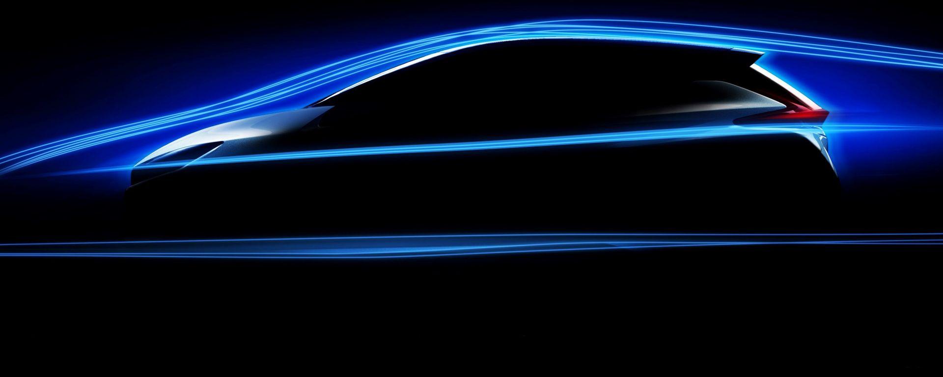 Nuova Nissan Leaf, avanzati studi aerodinamici