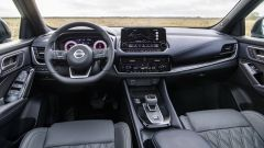 Nuova Nissan Qashqai 2021, gli interni