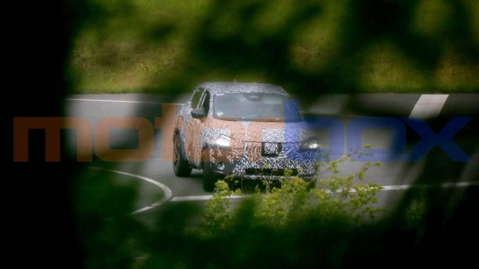Nuova Nissan Qashqai (2021): prime foto spia