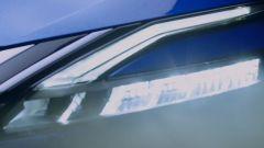 Nuova Nissan Qashqai, i fari anteriori