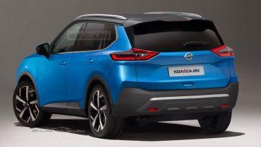 Nuova Nissan X-Trail, il render di Nikita Chuiko