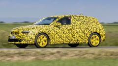 Nuova Opel Astra 2021: visuale laterale
