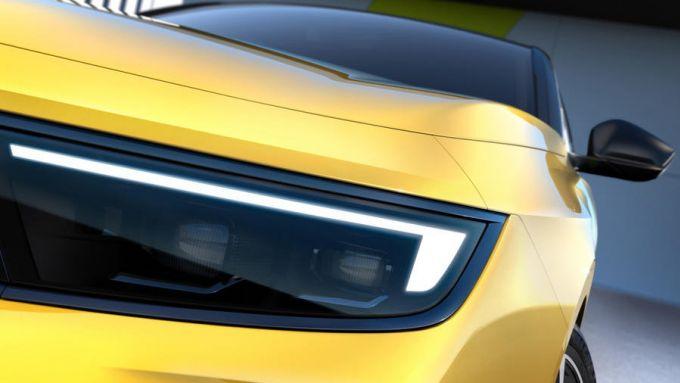 Nuova Opel Astra: i fari IntelliLux LED ispirati a quelli della Mokka