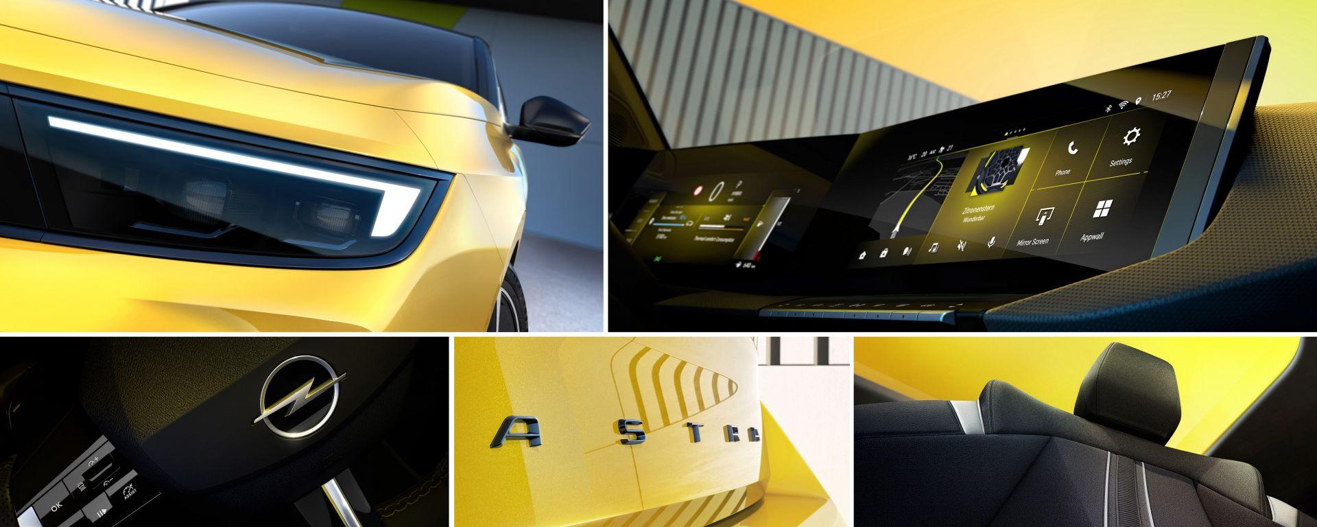 Nuova Opel Astra: quasi pronta per il tappeto rosso