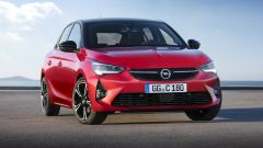 Nuova Opel Corsa 2019, vista frontale