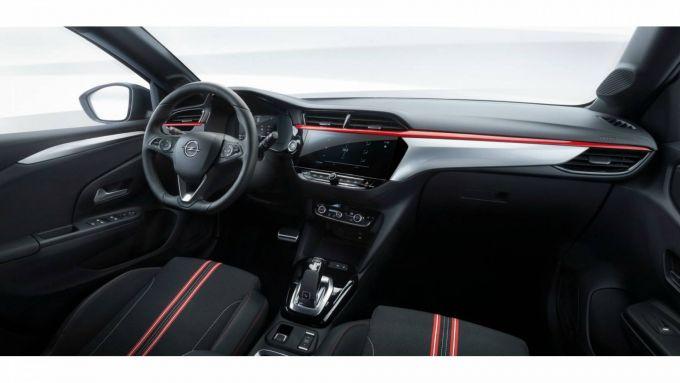 Nuova Opel Corsa 2020, gli interni