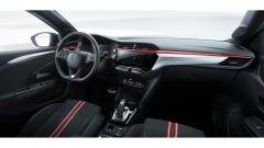 Nuova Opel Corsa 2020: la plancia e i sedili della GS Line