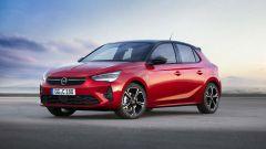 Nuova Opel Corsa 2020: una bella immagine del 3/4 anteriore