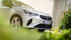 Nuova Opel Corsa 2020: una vista dell'avantreno